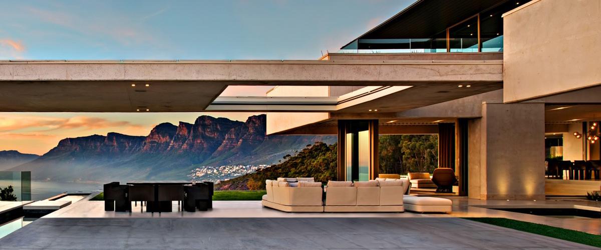 Luxusná dizajnová stavba