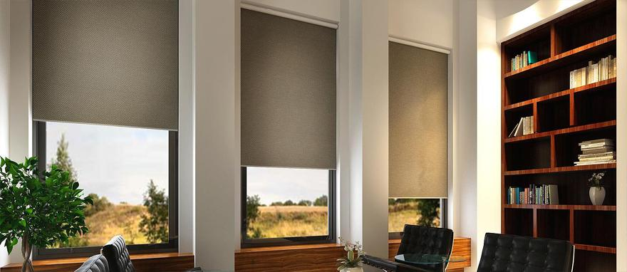Textilné látkové roletky do interiéru.