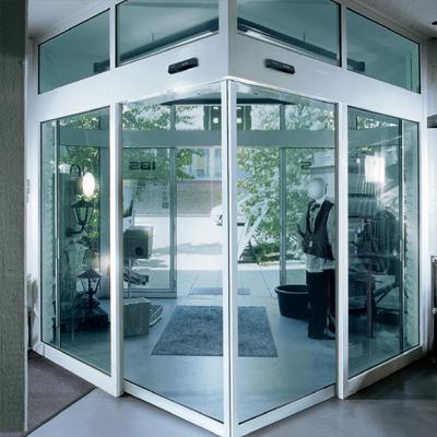 Uhlové automatické posuvné dvere