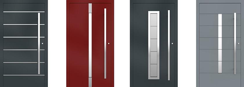 Exkluzívne hliníkové vchodové dvere