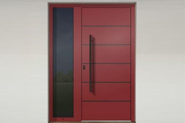 Vzor dverného panelu so skrytým krídlom