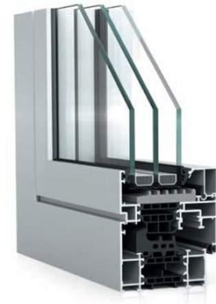 Hliníkové okná WICONA WICLINE 75