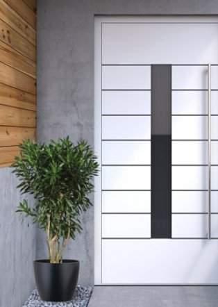 Vchodové dvere exclusive so skrytým krídlom
