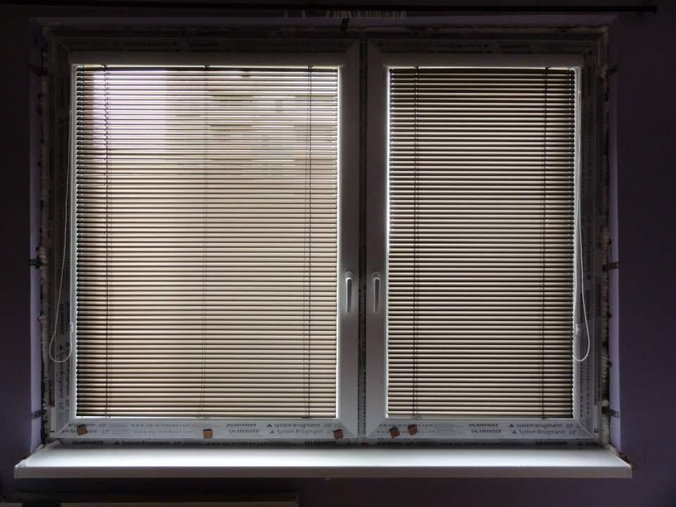 Montáž plastových okien a žalúzií-Byt Komárno