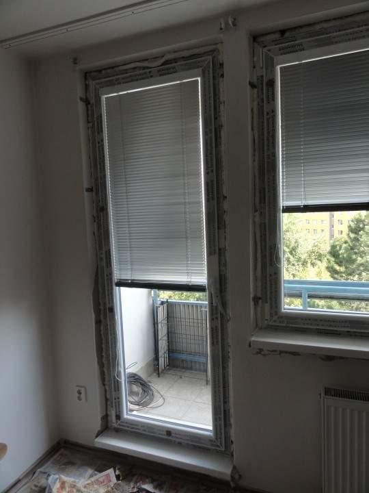 Montáž okien-Bytový dom - Bratislava