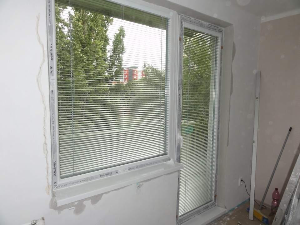 Montáž plastových okien -Byt - Komárno