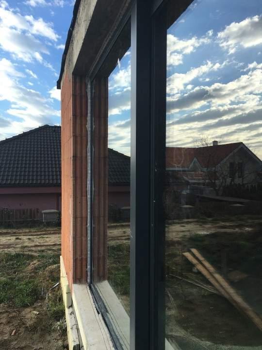 Montáž okien Novostavba - RD Stupava