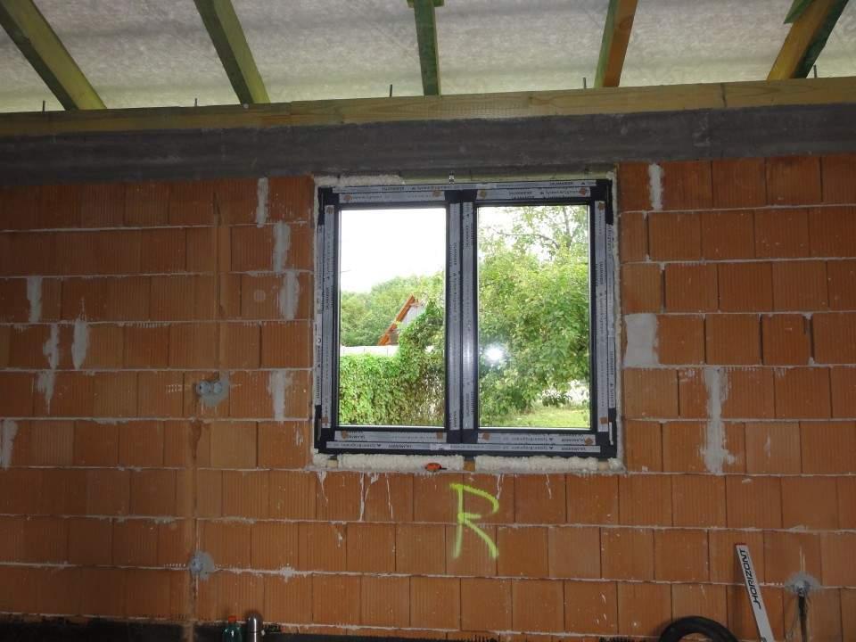 Montáž plastových okien RD - Hamuliakovo 2