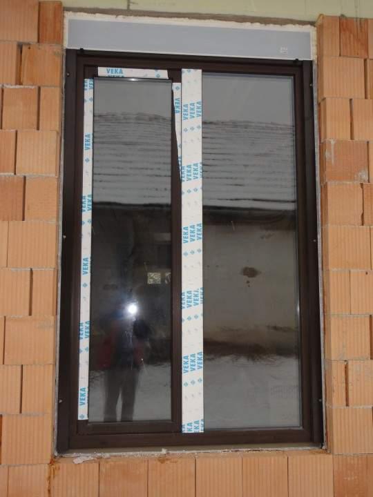 Montáž okien a dverí - Novostavba Modrany