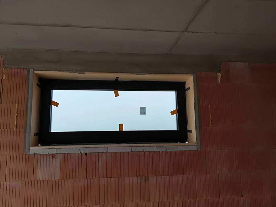 Montáž hliníkových okien RD Most pri Bratislave