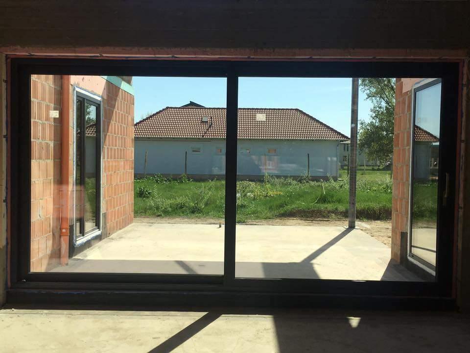 Montáž okien a dverí - exkluzívna novostavba