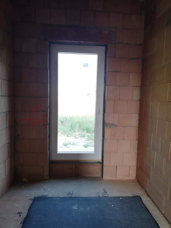Montáž hliníkových okien a dverí - RD Kittsee