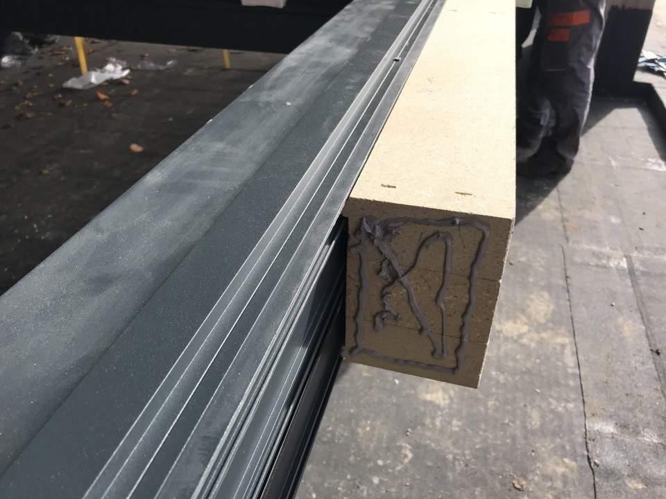 Montáž hliníkových okien a dverí - RD Komárno